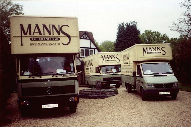Removals Fleet in the 1970's