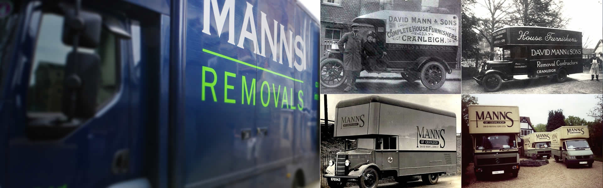 Moving homes in Surrey and beyond since 1887